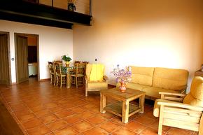 Las Casas de Agapito C.T. Rural Vista del comedor
