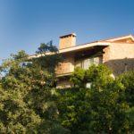 Vista baja de Las Casas Rurales de Agapito