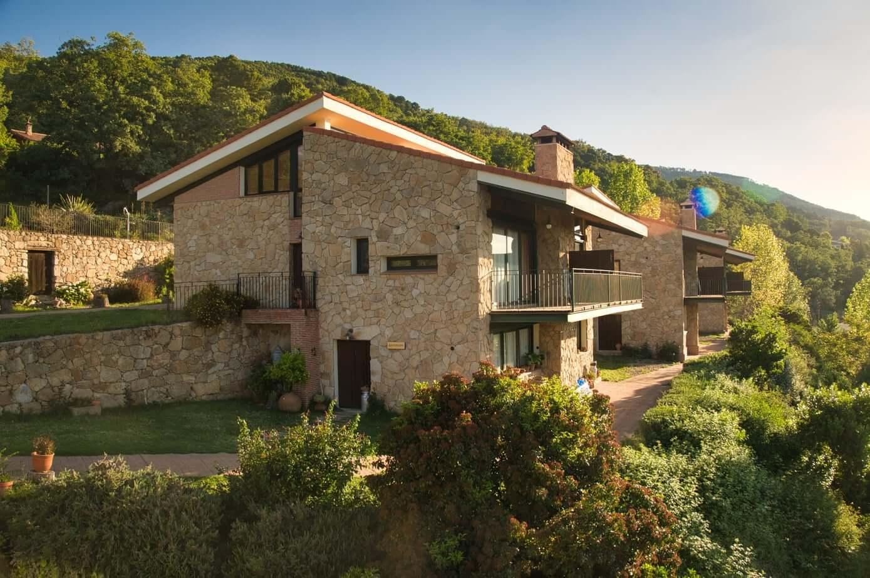 Vista completa de Las Casas Rurales de Agapito