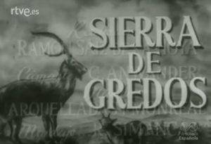 Video soibre la Sierra de Gredos en NODO
